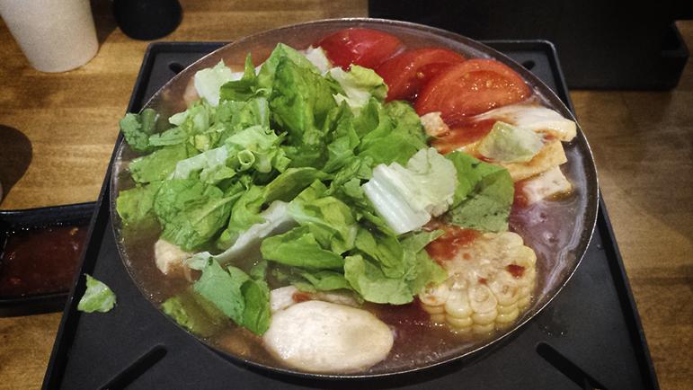 Tomato Veggie Hot Soup